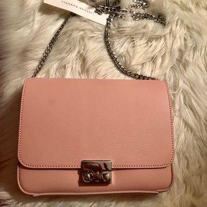 Loeffler Randall blush pink purse